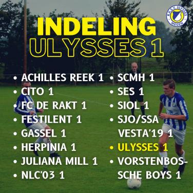 Indeling Ulysses 1